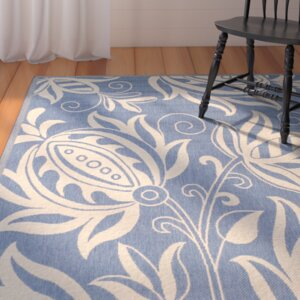 Laurel Blue/Natural Area Rug