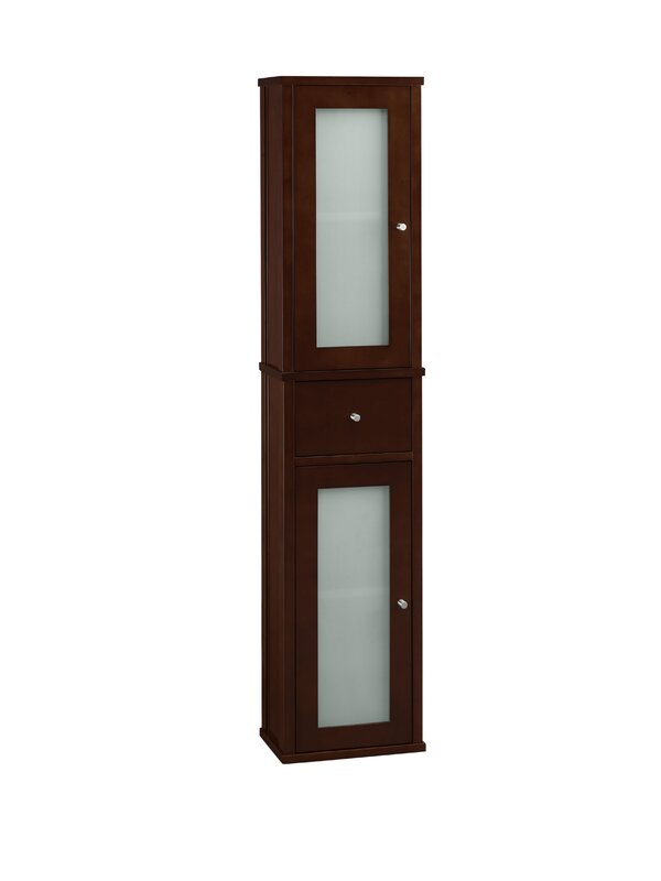 """Cole 12""""W x 55""""H Wall Mounted Cabinet"""