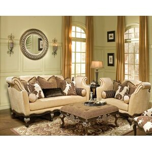 Salermo 3 Piece Living Room Set by Benetti&#..