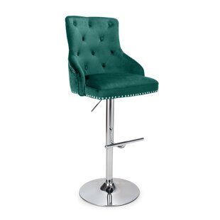 Fashionable Bar Chair Front Desk Receives Silver Chair Conference Chair Bar Stool Elegant Appearance European Style Tall Chair