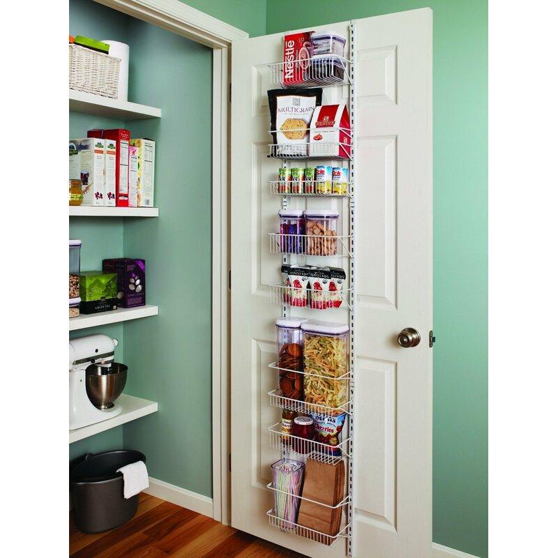 8-Tier Adjustable Cabinet Door Organiser  sc 1 st  Wayfair & Closetmaid 8-Tier Adjustable Cabinet Door Organiser u0026 Reviews ...