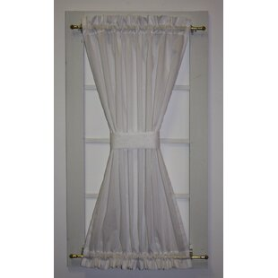 Lace Door Panel Curtains Wayfair