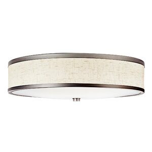 3-Light 18W Flush Mount