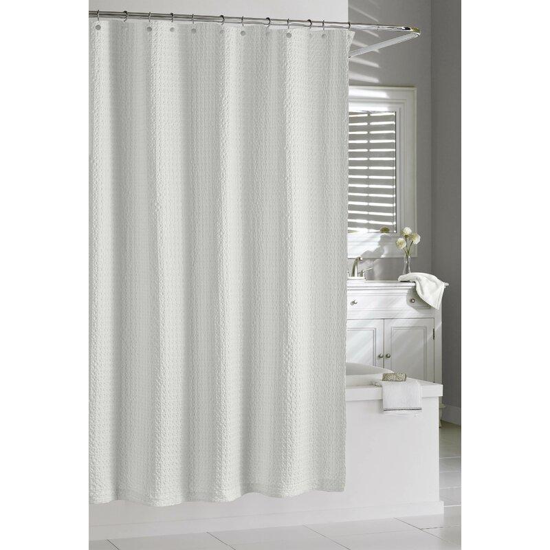 Laurel Foundry Modern Farmhouse Glennville Cotton Single Shower Curtain
