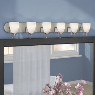 6 Or More Light Bathroom Vanity Lighting