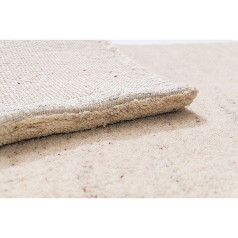 Parwis Handgefertigter Teppich Dhital Aus Wolle In Beige Wayfair De