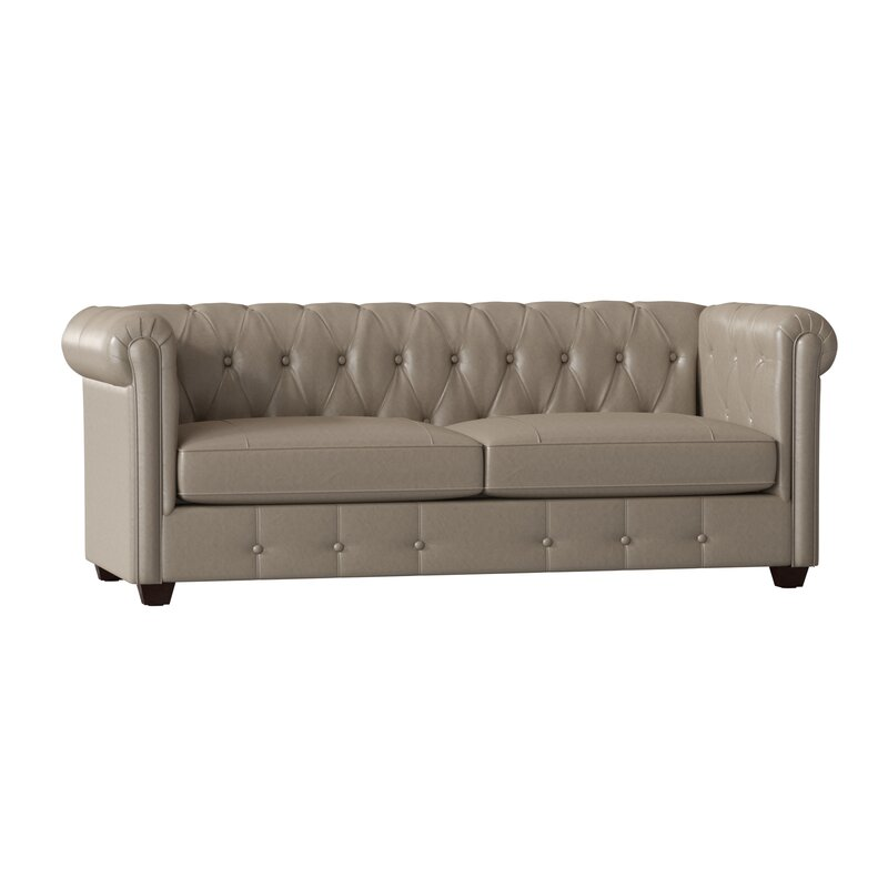 Hawthorn Leather Chesterfield Sofa
