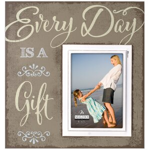 Everyday Is Gift Script Picture Frame