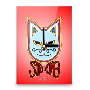 Simon the Cat Strong Wall Clock by Hourleaf