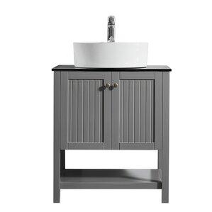Bathroom Vanity Vessel Sink vessel sink vanities you'll love | wayfair