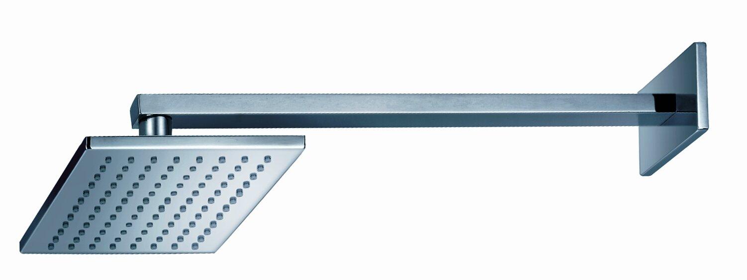 rectangular rain shower head. Safire Wall Mount Rain Shower Head Artos  Reviews Wayfair