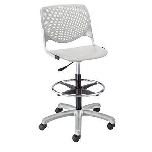 panton poly adjustable midback drafting chair
