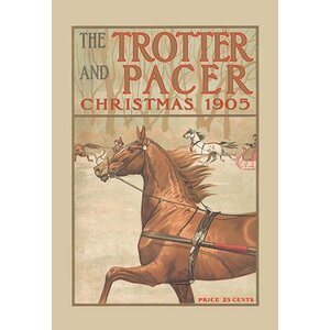 'The Trotter and Pacer, Christmas 1905' Vintage Advertisement