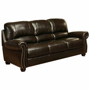 Allen Leather Sofa