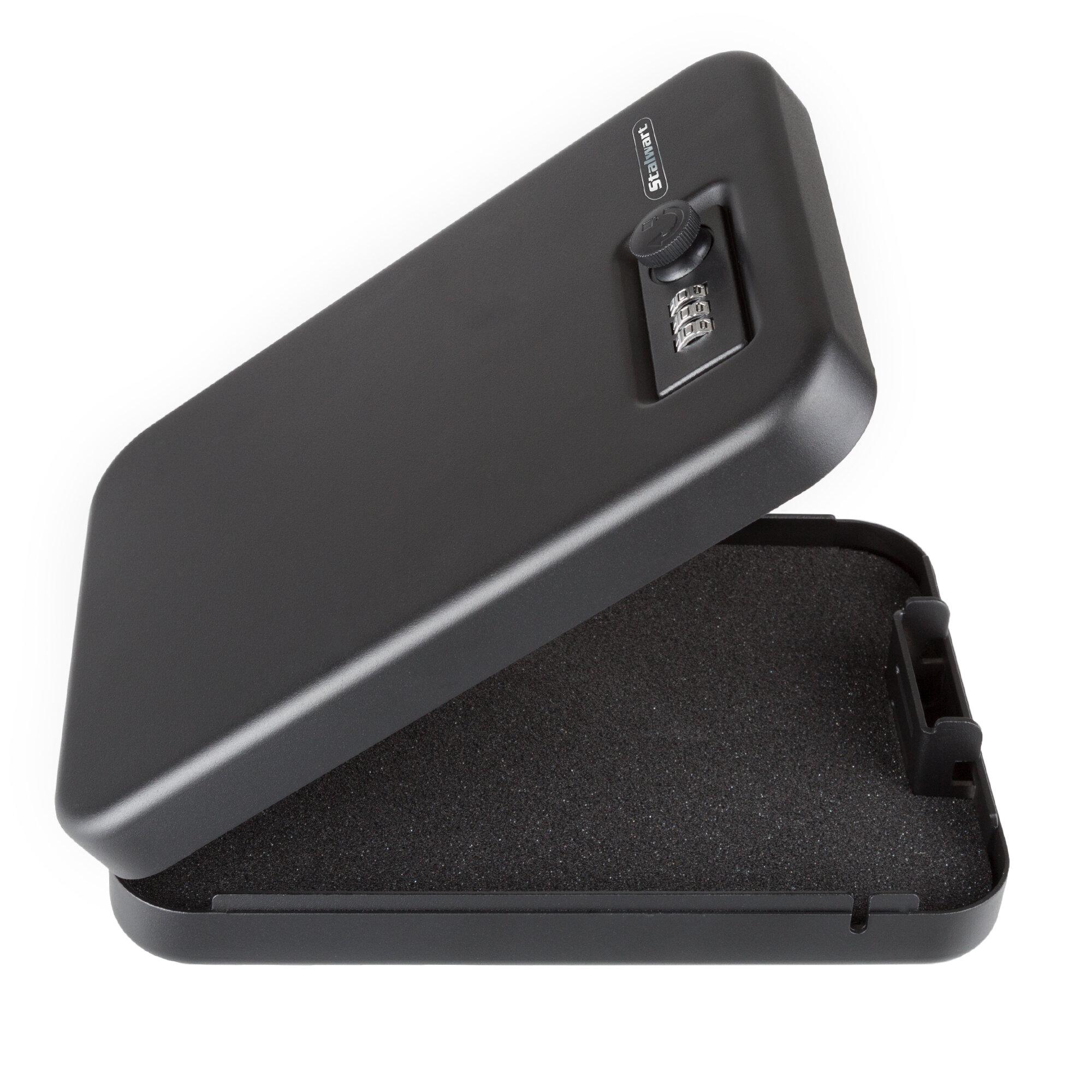 Stalwart Portable Gun Safe Box Combination Lock Wayfair