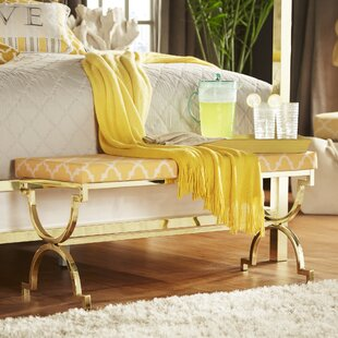 Yellow Bedroom Benches You\'ll Love   Wayfair