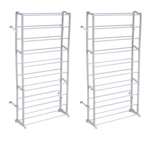 shoe rack with 10 shelves set of 2