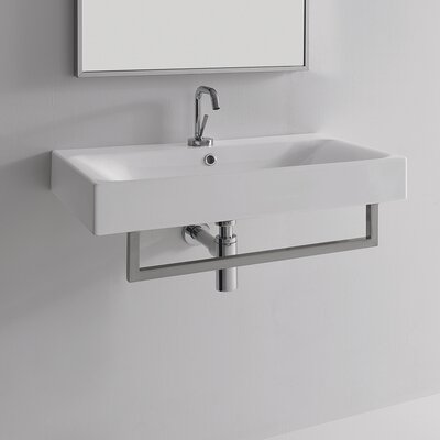 Scarabeo By Nameeks Ml 24 Quot Wall Mounted Bathroom Sink With