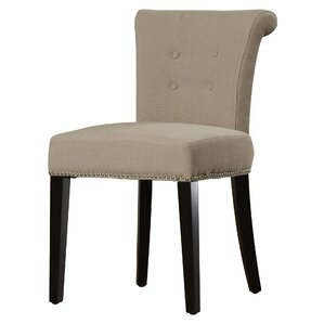 Cyrus Parsons Upholstered Dining Chair (Set of 2) by Alcott Hill