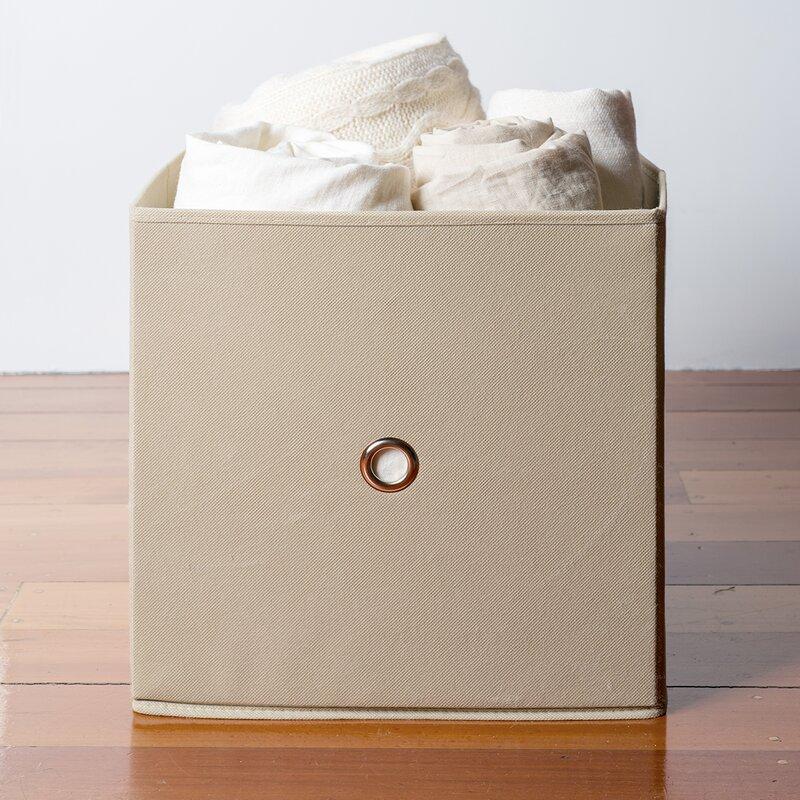 Ordinaire Fabric Cube Or Bin Storage