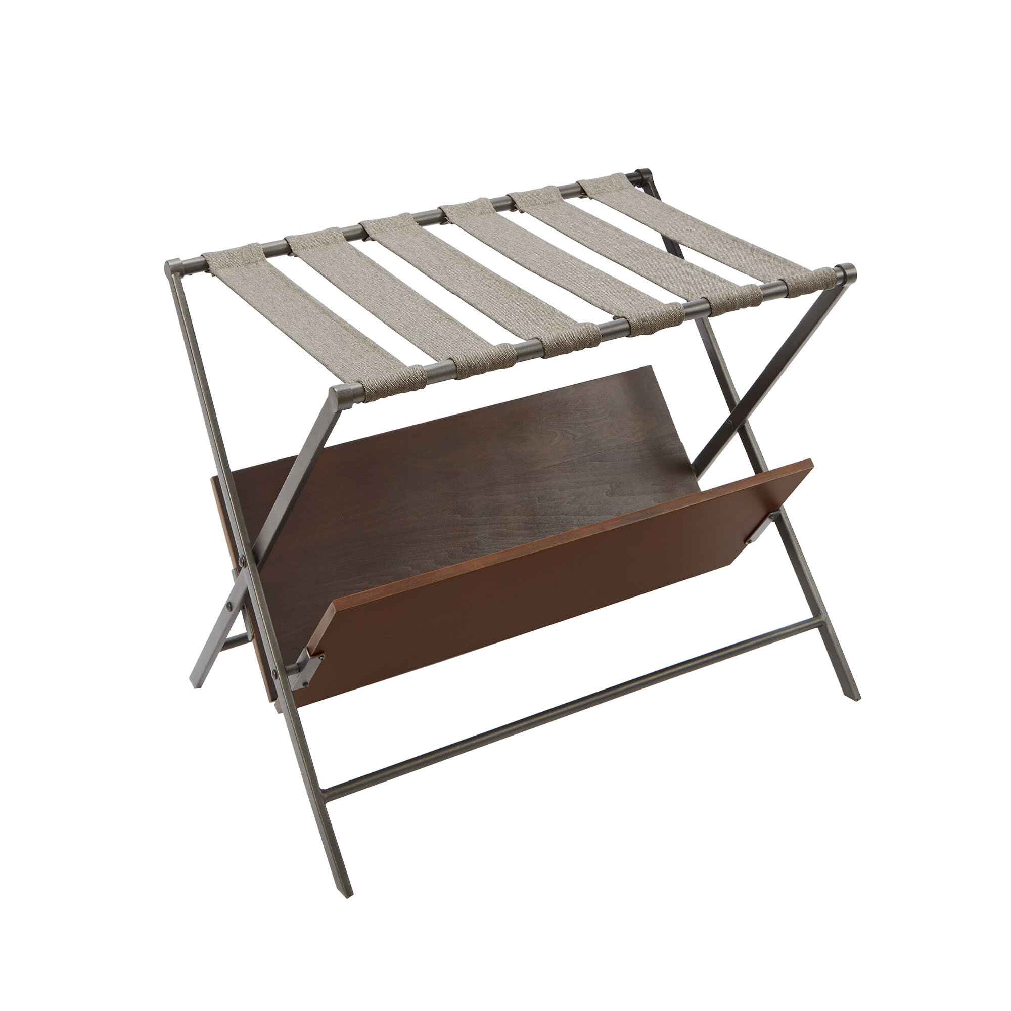 rail single rack collapsible