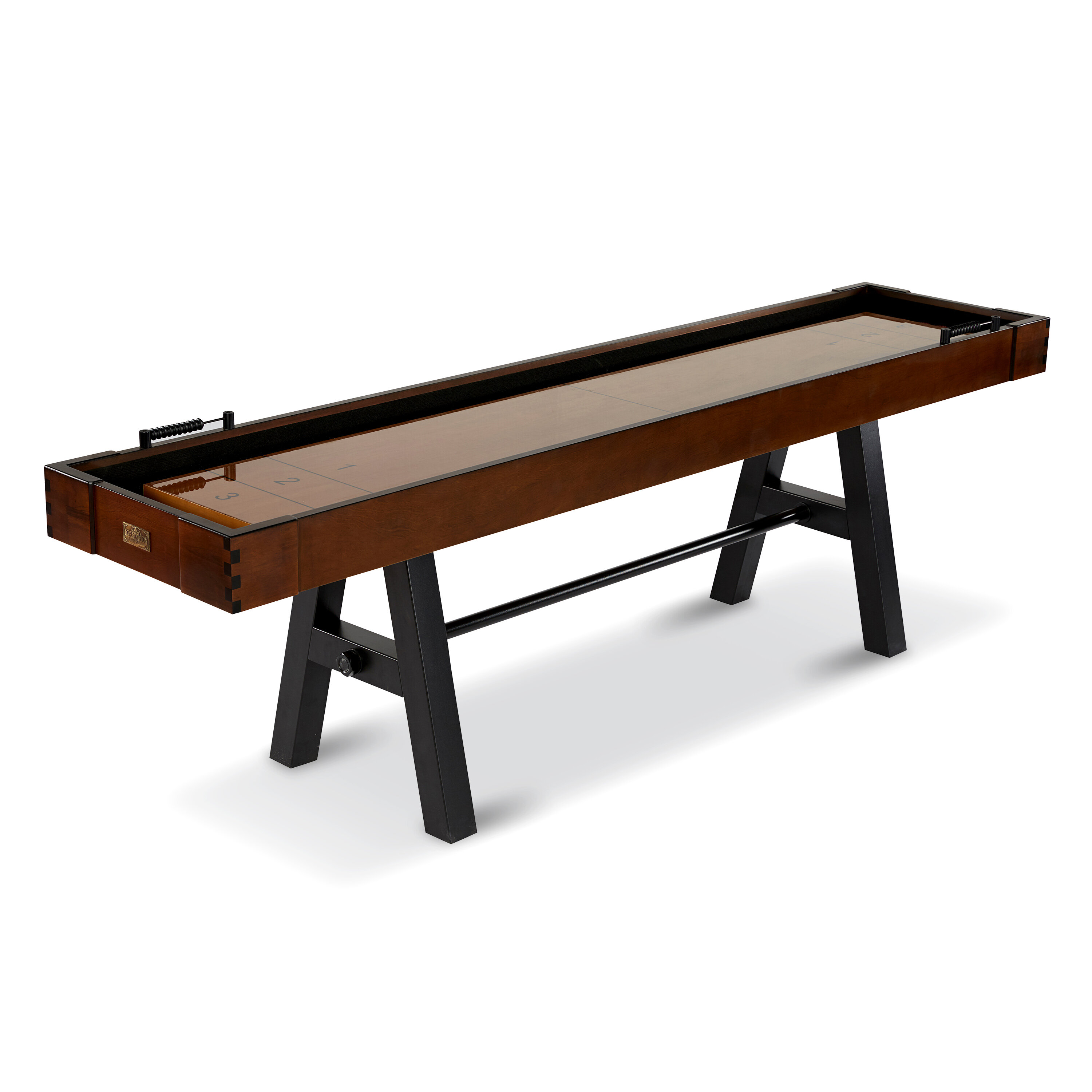 table is top a what american construction strain ply img shuffleboard laminated isolating