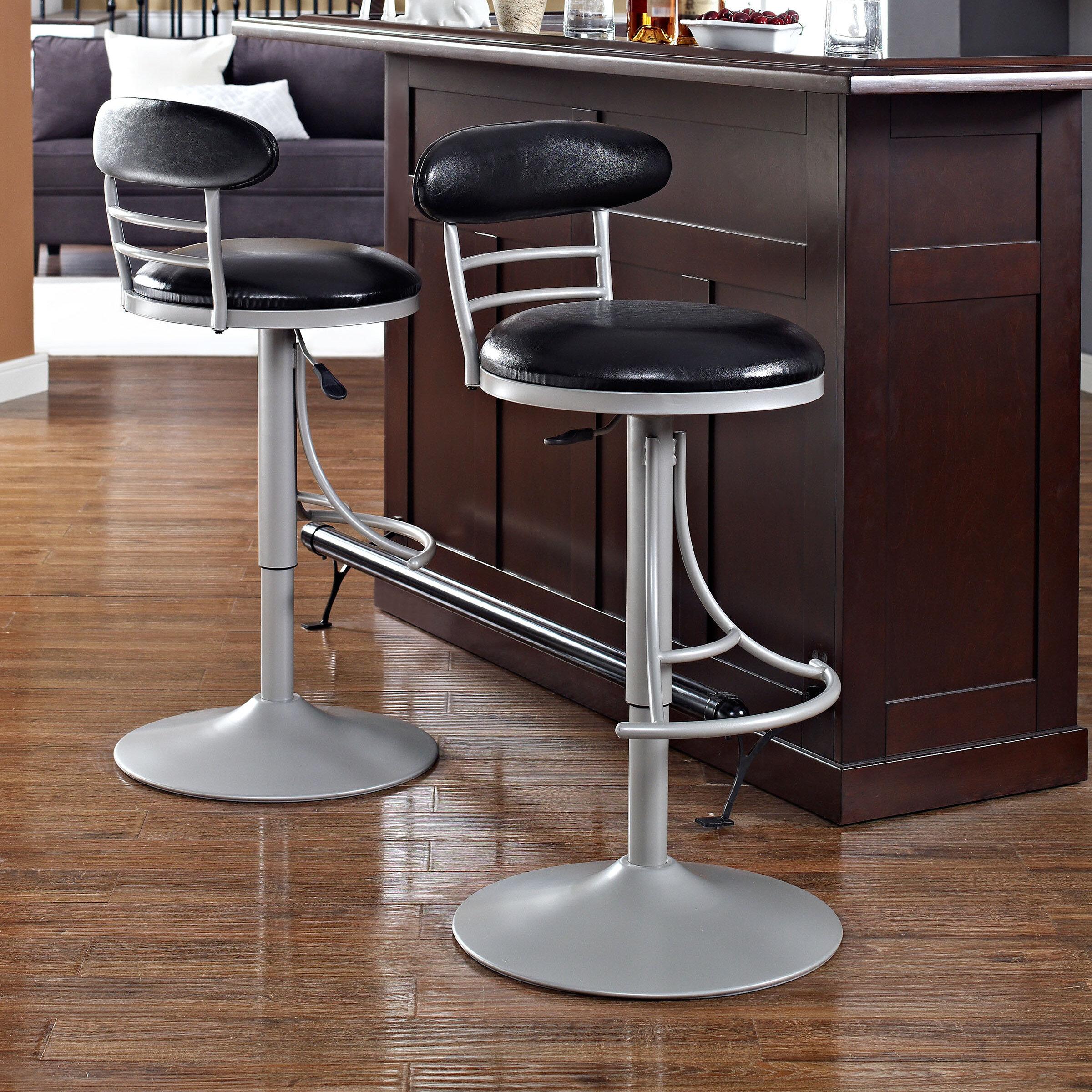 Peachy Jasper Adjustable Height Swivel Bar Stool Ncnpc Chair Design For Home Ncnpcorg