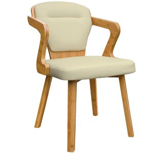 Westphal Bamboo Upholstered Dining Chair by Brayden Studio