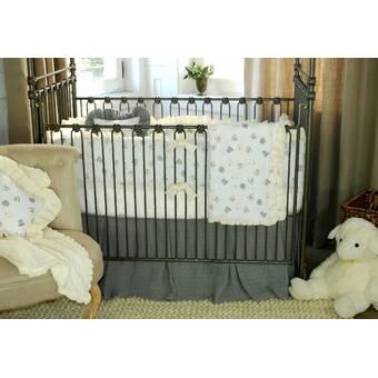 Harriet Bee Stelly 4 Piece Crib Bedding Set   Wayfair