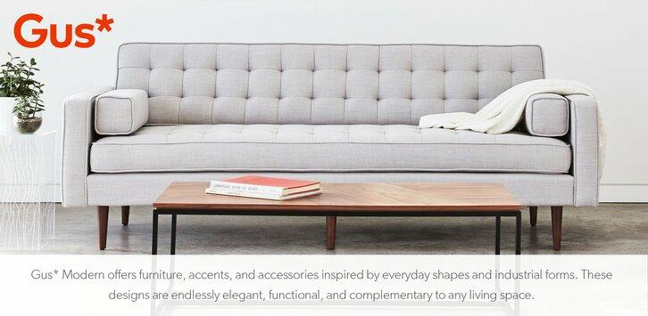 Modern Furniture Couch gus modern - gus modern sofas, chairs & dining | allmodern