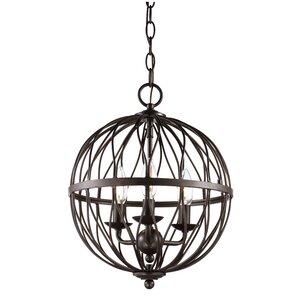 Brittain 3-Light Globe Pendant