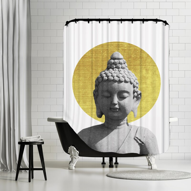 Iyanna Buddha Shower Curtain