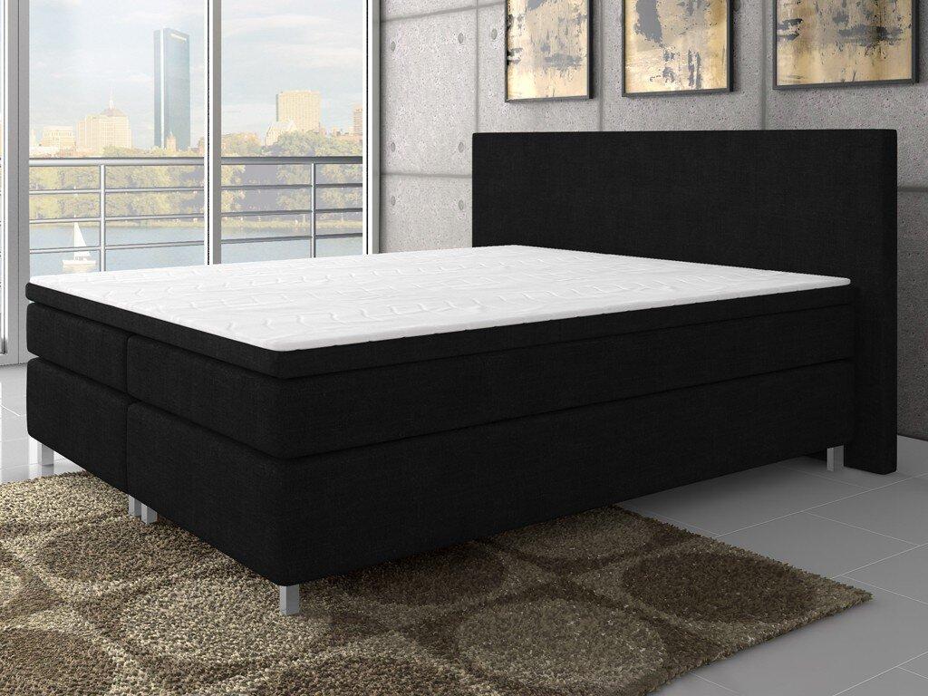 interhandelsgmbh boxspringbett mit topper. Black Bedroom Furniture Sets. Home Design Ideas