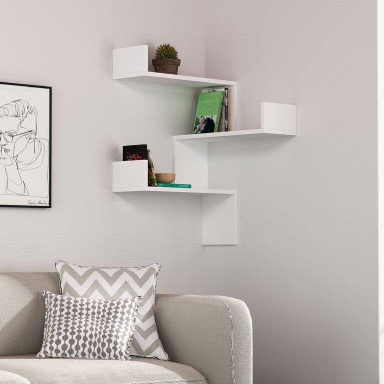 . Sadie Modern Wall Shelf