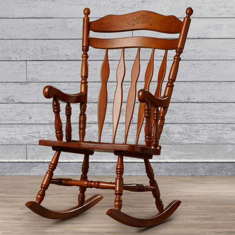 Where Can I Buy Chairs: Loon Peak Greenwood Rocking Chair & Reviews