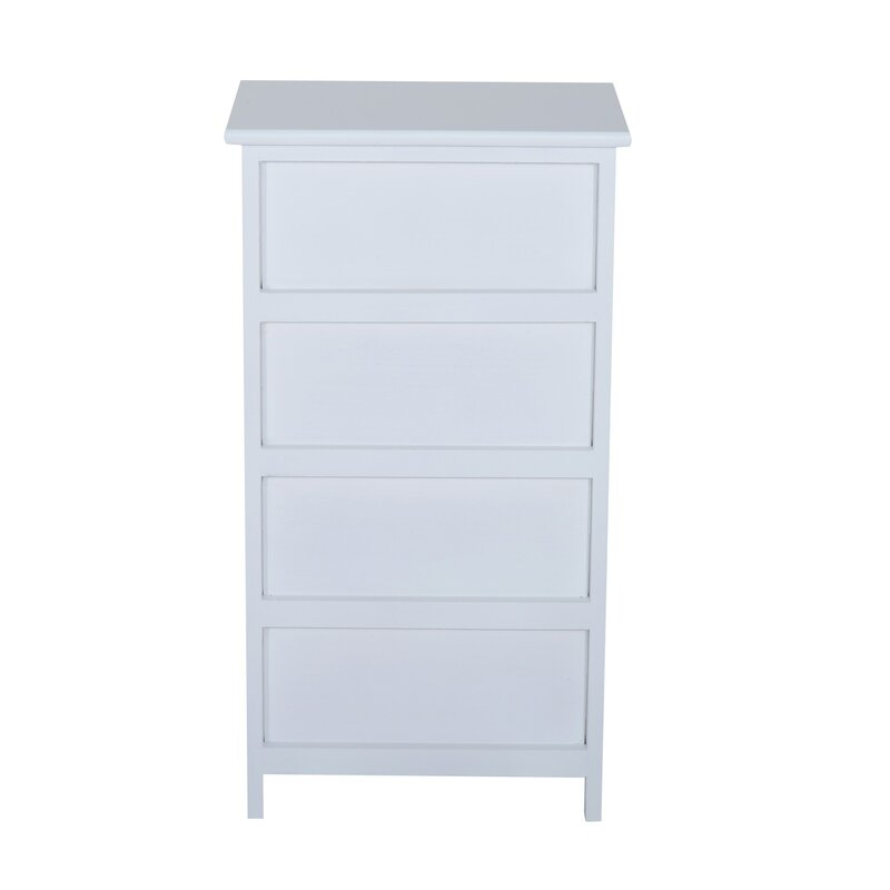Homcom 4 drawer chest reviews for Dayroom yellow bedroom