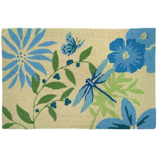Lansdale Blue Erfly And Dragonfly Area Rug