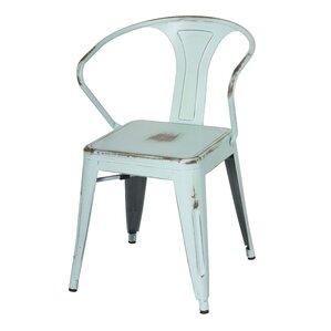 Ellery Metal Arm Chair (Set of 4) by Tren..