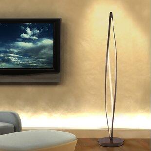 Twisted Wood Floor Lamp Wayfair