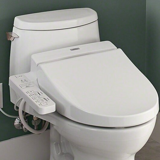 Default nameToto Washlet for Elongated Toilet   Reviews   Wayfair. Japanese Self Cleaning Toilet. Home Design Ideas