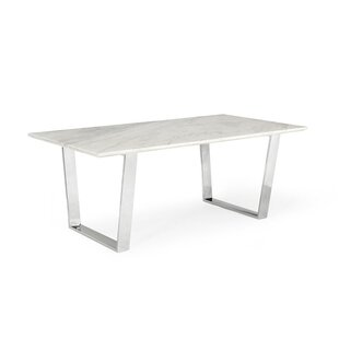 Modern Contemporary Faux Marble Top Dining Table AllModern