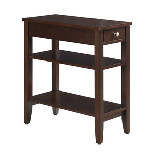 Elegant Greenspan End Table With Storage