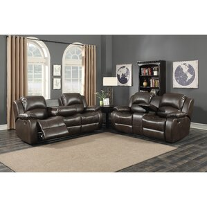 AC Pacific Samara 2 Piece Living Room Set