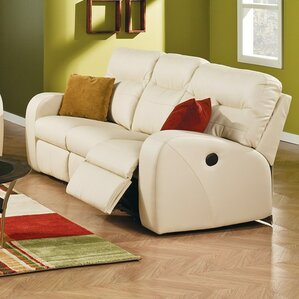 Glenlawn Leather Reclining Sofa by Pal..