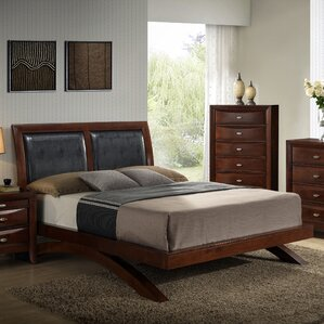 Plumcreek Upholstered Platform Bed by Red Barrel Studio