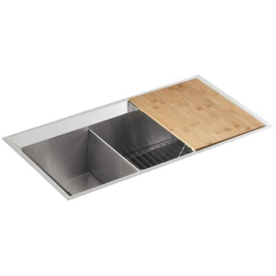 Riverby  X  Double Basin Undermount Kitchen Sink