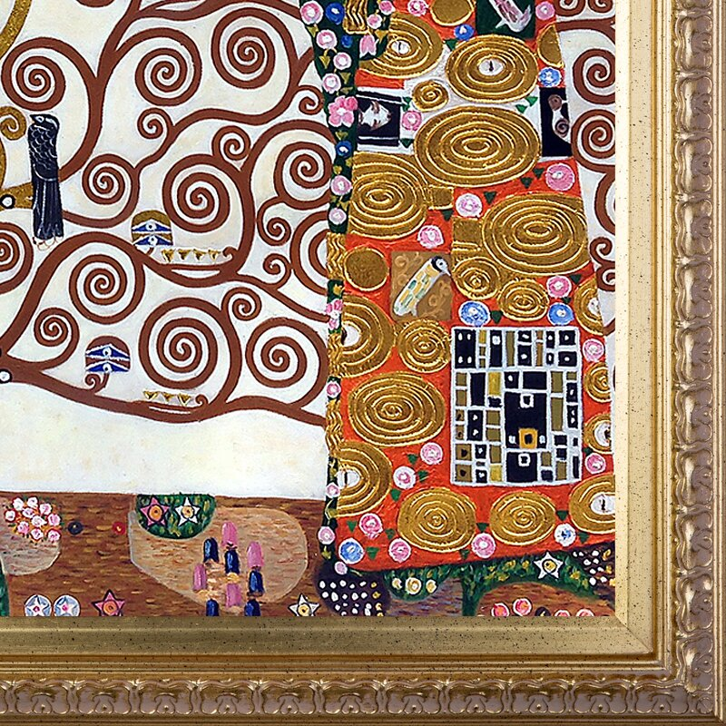 Tori Home The Tree of Life, Stoclet Frieze, 1909\' by Gustav Klimt ...