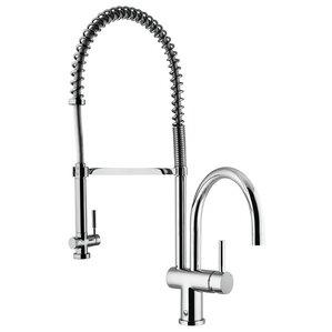 VIGO Dresden Pull-Down Spray Hot & Cold Water Dispenser