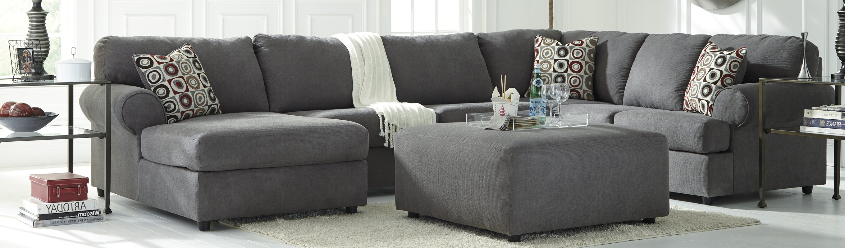 Andover Mills Sellersville Reversible Sectional & Reviews