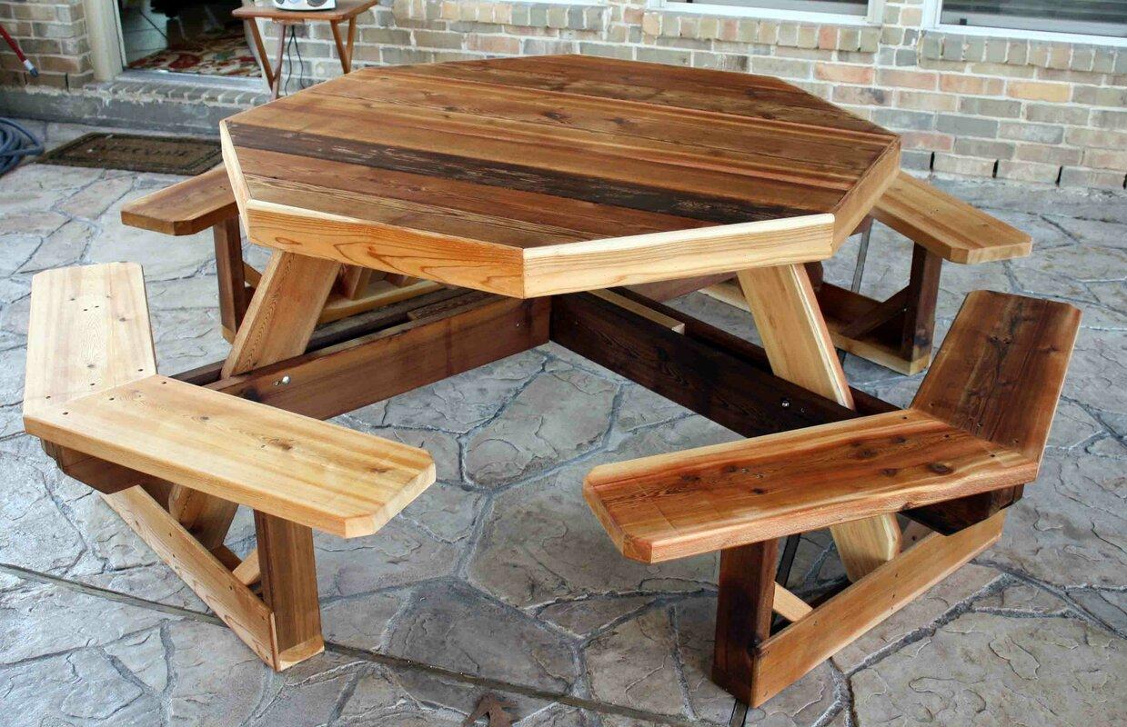 Picnic Tables You\u0027ll Love | Wayfair